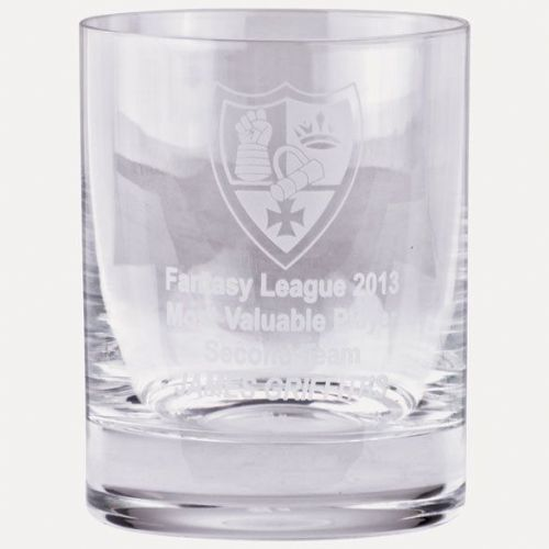 Lindisfarne St Jude Lead Free Whisky Glass 105mm